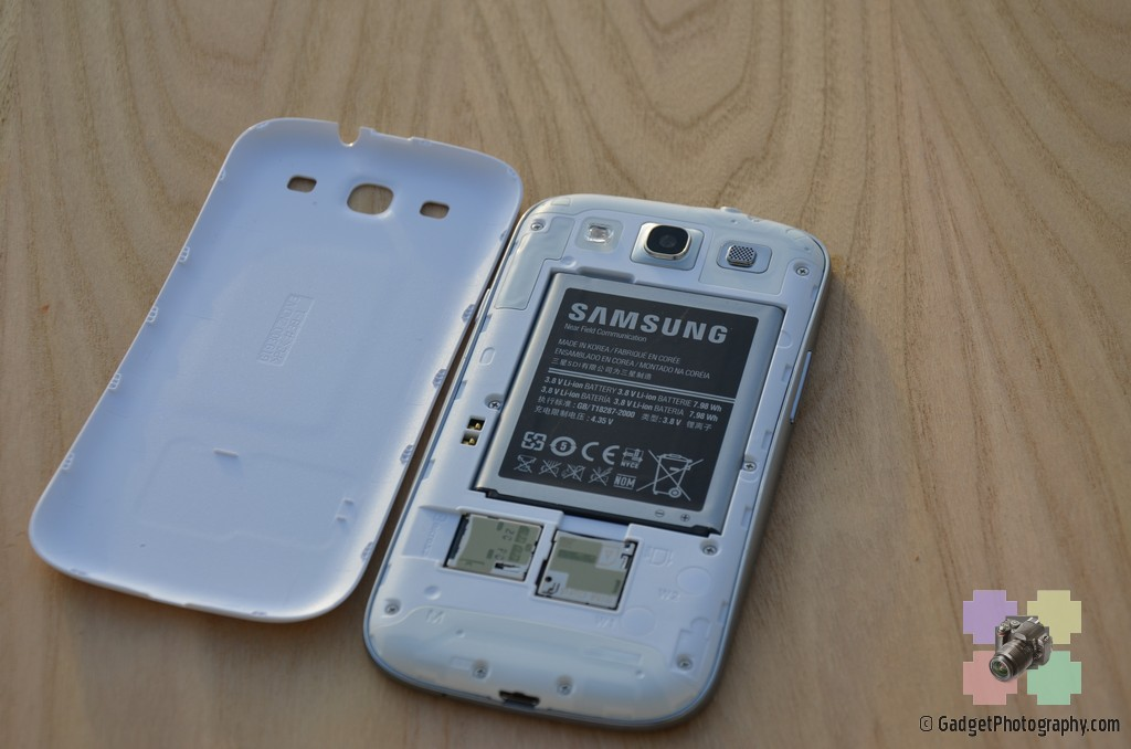 Samsung Galaxy S III Back Section