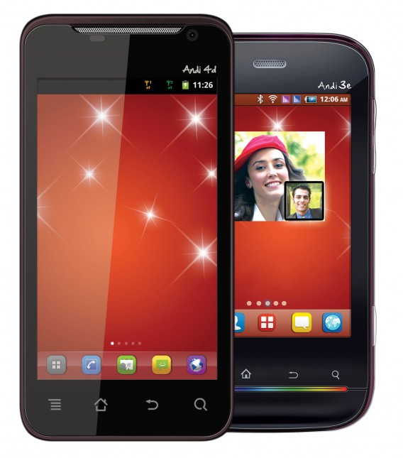 iBall Phones Andi 4d, 3e