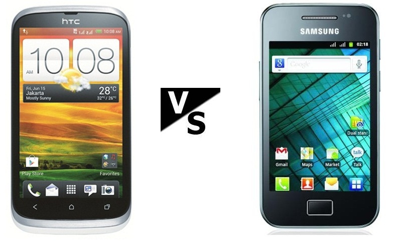 Galaxy Ace Duos S6802 vs HTC Desire V