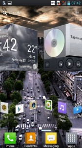 LG Optimus 4X HD Interface 2
