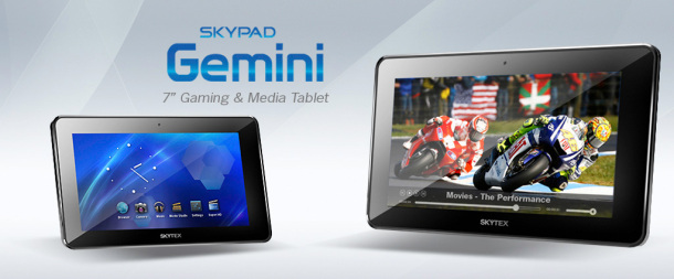 SkyPad Gemini Tablet