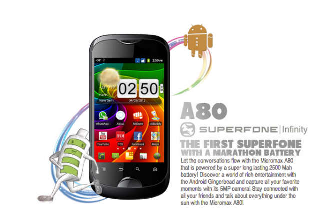 Superfone A80 Infinity