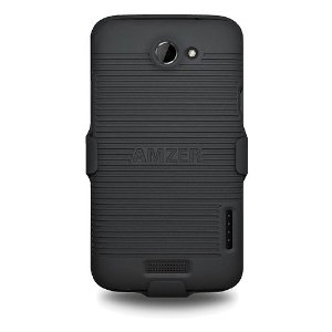Amzer AMZ93808 Shellster Case Cover Holster for HTC One X