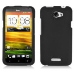 BLACK Hard Plastic Rubberized Protector Case Cover