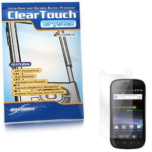BoxWave Samsung Galaxy Nexus ClearTouch Crystal Screen Protector