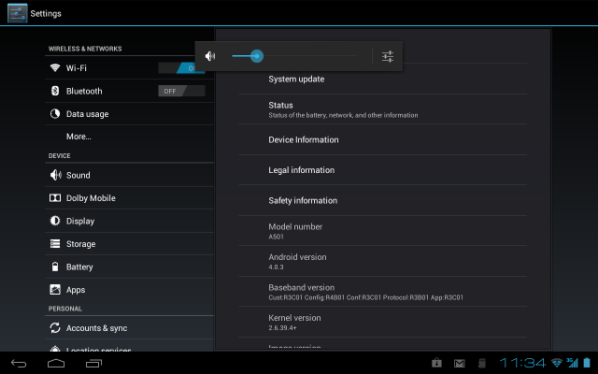 Iconia Tab ICS Update