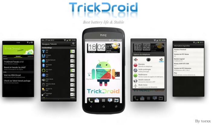 Trick Droid Custom ROM Firmware Banner