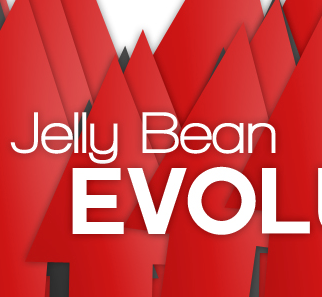 Jellybean Evolution Logo