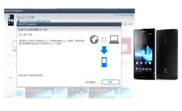 Xperia Ion ICS