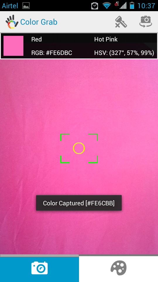 Color Grab Android Color Captured