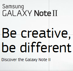 Galaxy Note 2 Logo New
