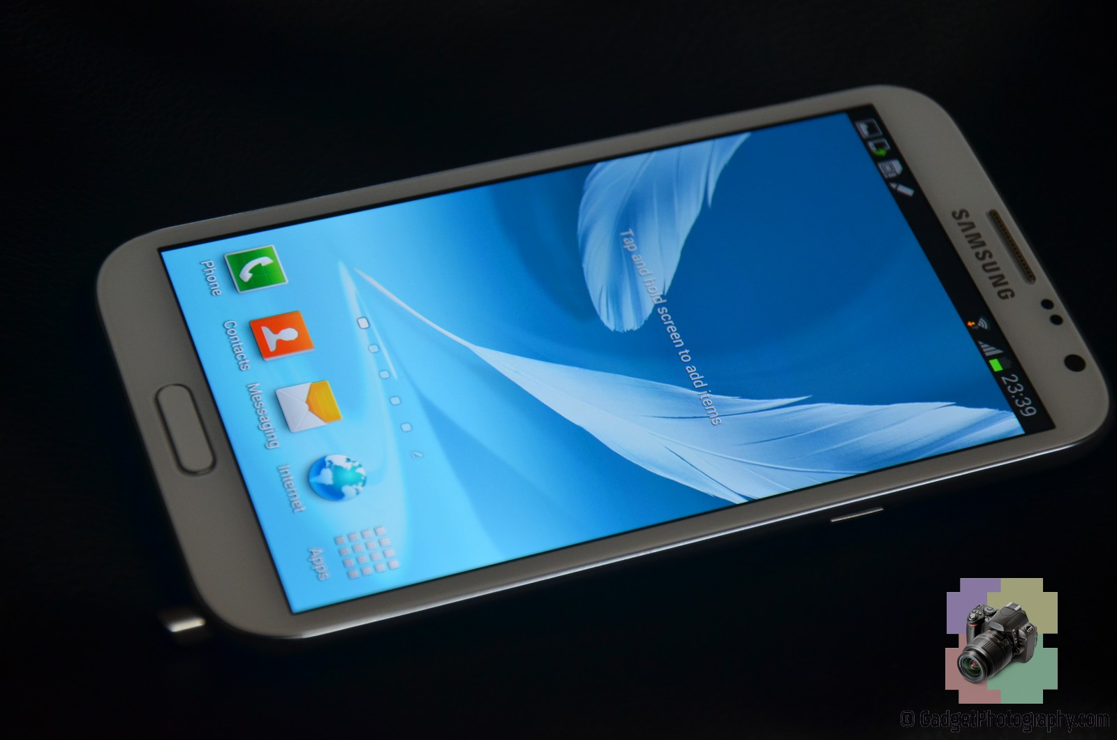 Galaxy Note II Front