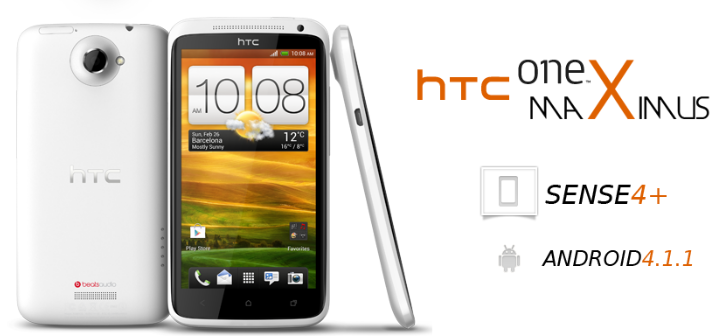 HTC ONE X MAXIMUS