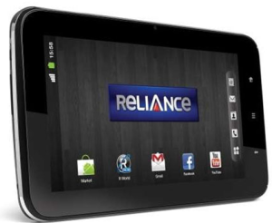 Reliance 3G Tab - 3G android tablet