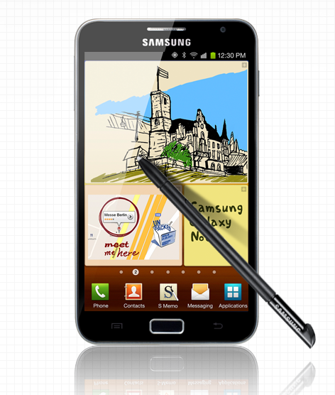 Samsung Galaxy Note specifications