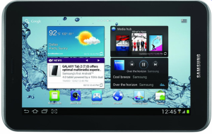 Samsung Galaxy tab 2 - 3g android tablet