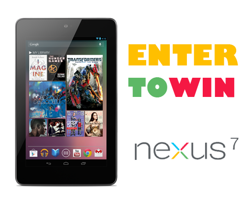 Win Google Nexus 7 Tablet