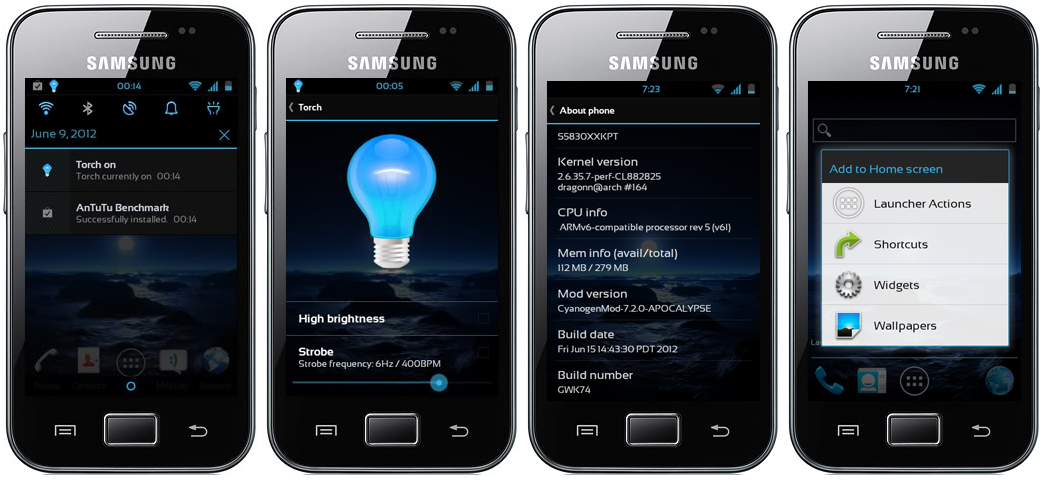 How to Update Galaxy ACE S5830 with Most Popular APOCALYPSE