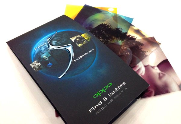 Oppo Find 5 Launch
