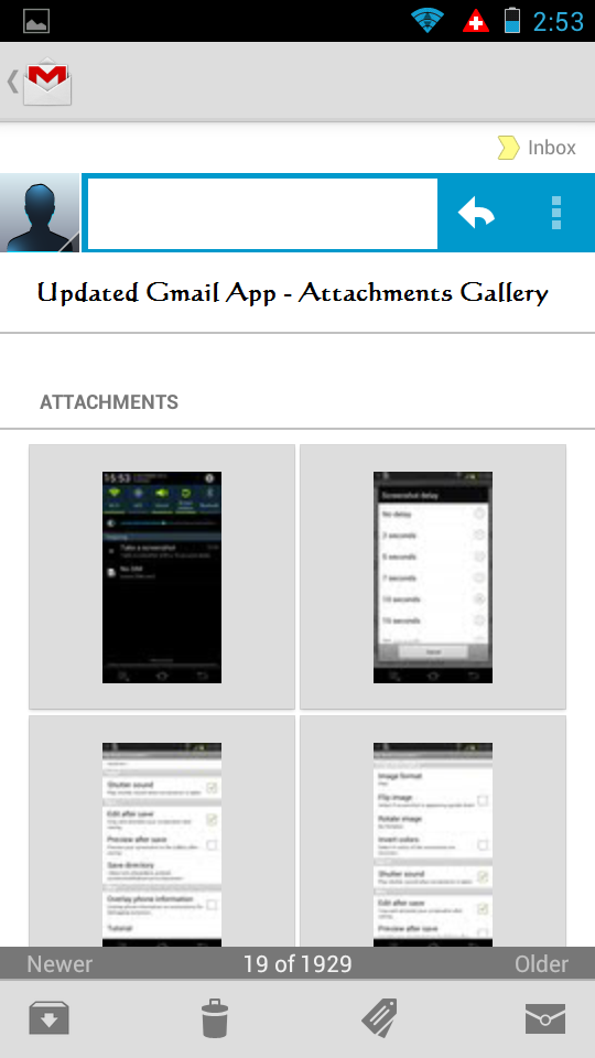 Gmail Picture Attachments Gallery
