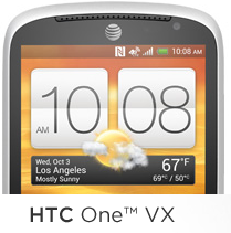 htc one vx logo