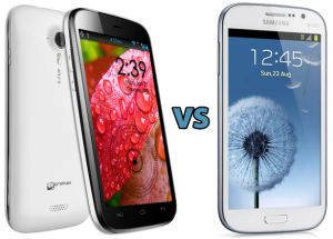 Micromax A116 Canvas HD Vs Galaxy Grand