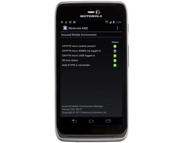 Motorola-AME-2000-Federal-Agency-Secure-Android-Phone