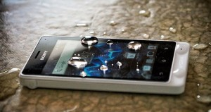 Sony Xperia go waterproof