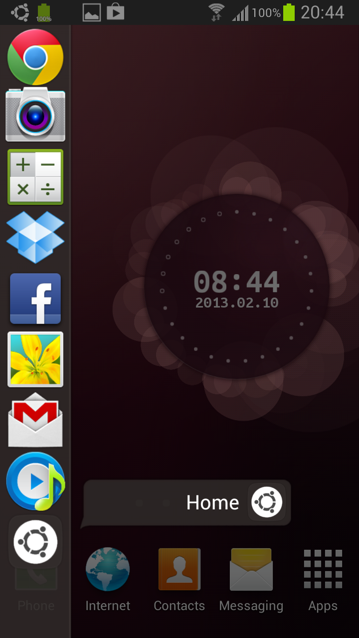 Phone Android Phone Os Download download ubuntu live wallpaper app apk to experience os on launcher demo