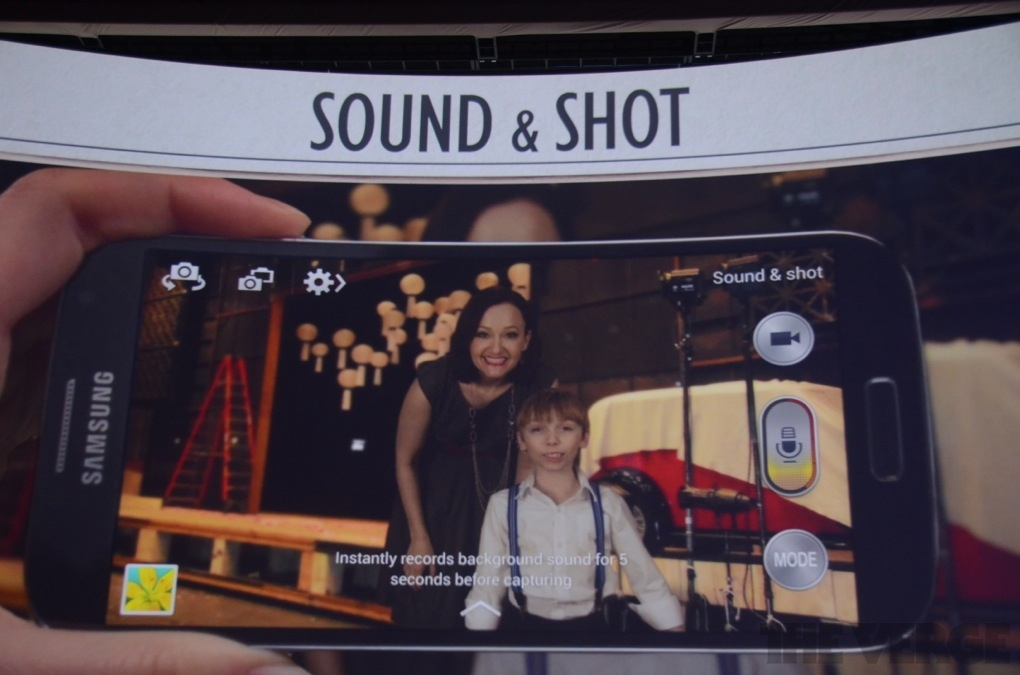 Sound and shot S4