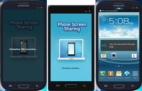 Samsung Phone Screen Sharing