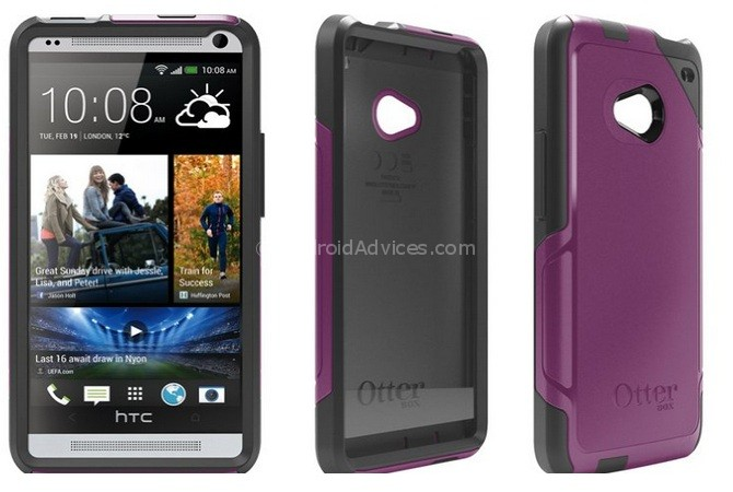 OtterBox Commuter Case for HTC One