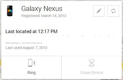 Android Device Manager Location 3
