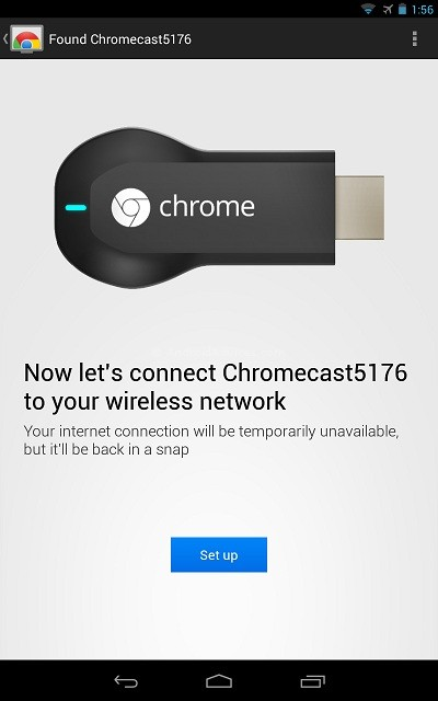 Found ChromeCast Device 1