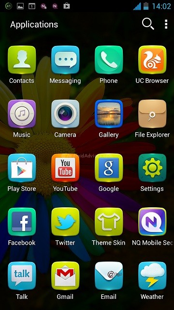 Gionee Elife E5 Apps List