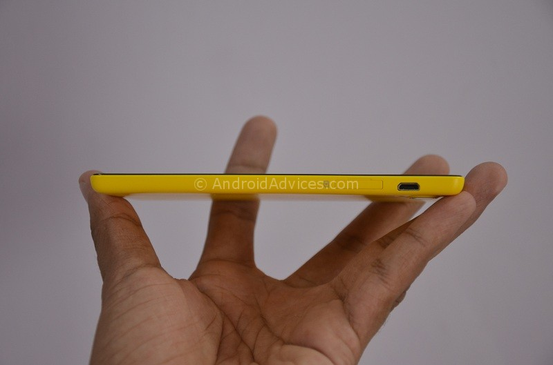 Gionee Elife E5 Right Panel