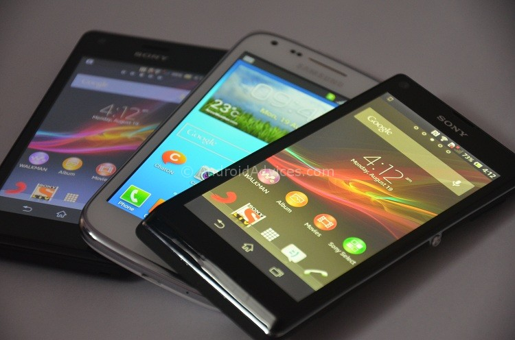 Sony Xperia M vs Galaxy Core vs Xperia L