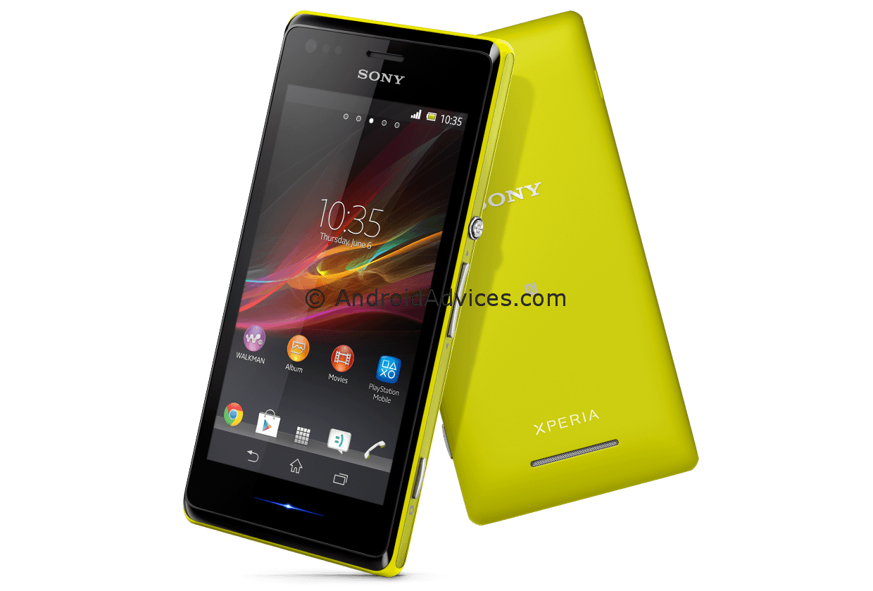 Xperia M Specifications Sony Xperia M C...