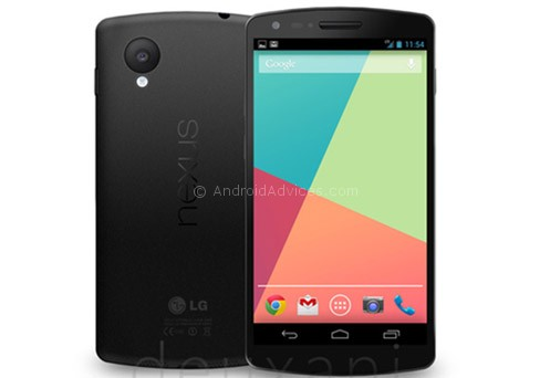 Nexus 5 Leaked Picture