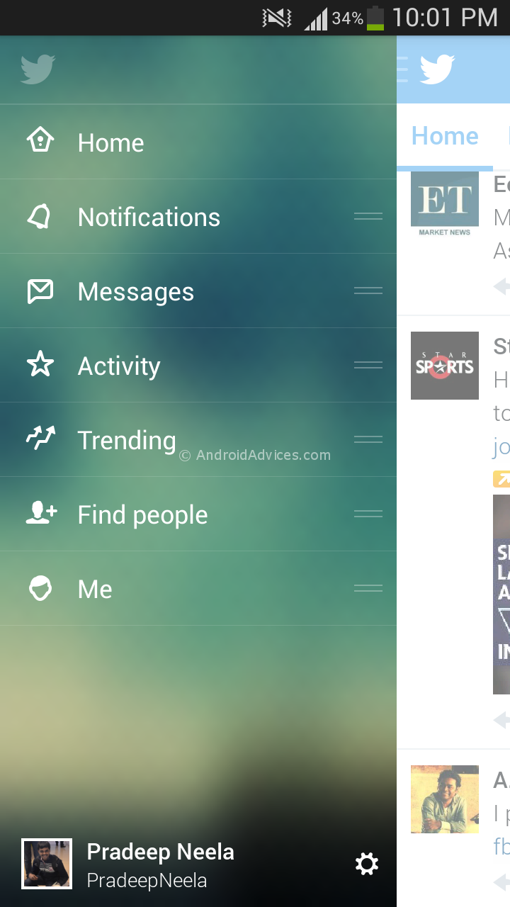 how to download twitter for android