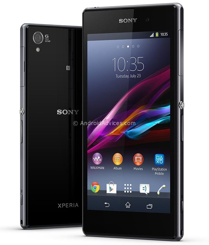 Sony Xperia Z1 Black Phone