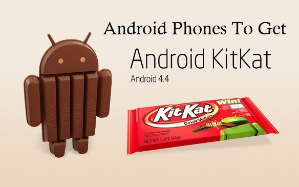Android Phones KitKat Update