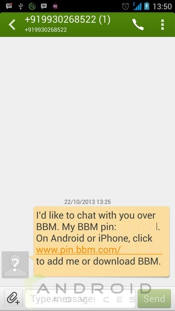 BBM Android 11