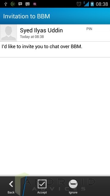 BBM Android 4
