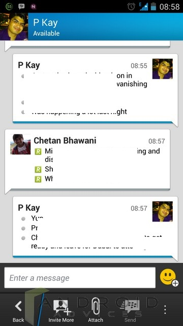 BBM Android 5
