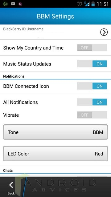 BBM Android 6