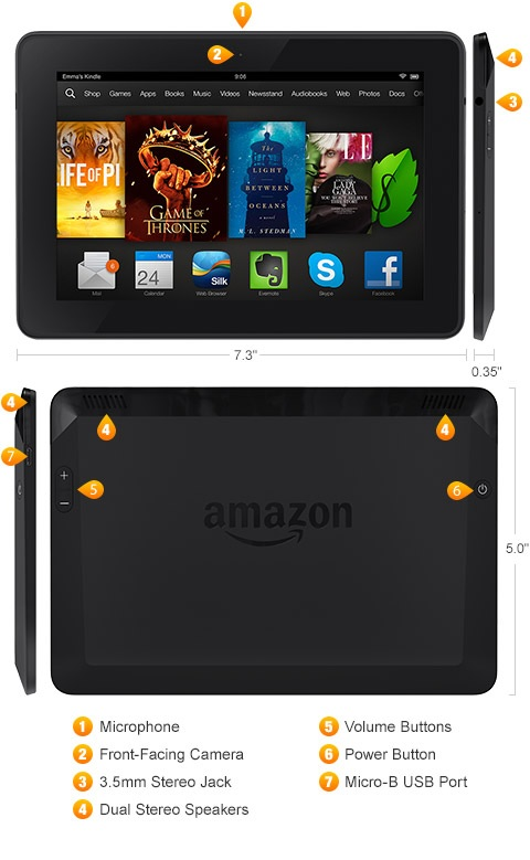 Kindle Fire Hdx 7 Tablet Now Available On Amazon Starting