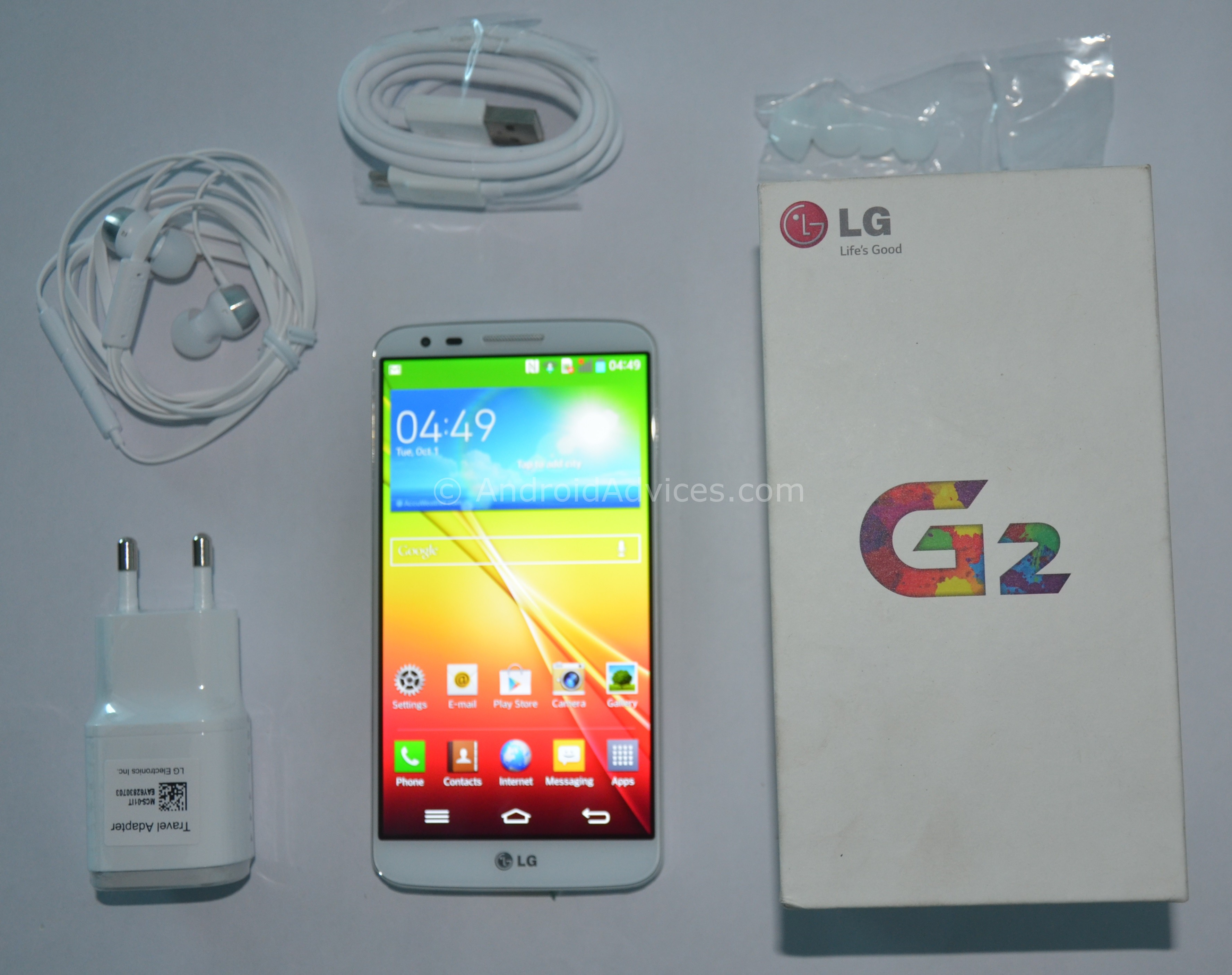 LG G2 Unboxing & Hands-On Demo - Android Smart Phone with 13Mp OIS