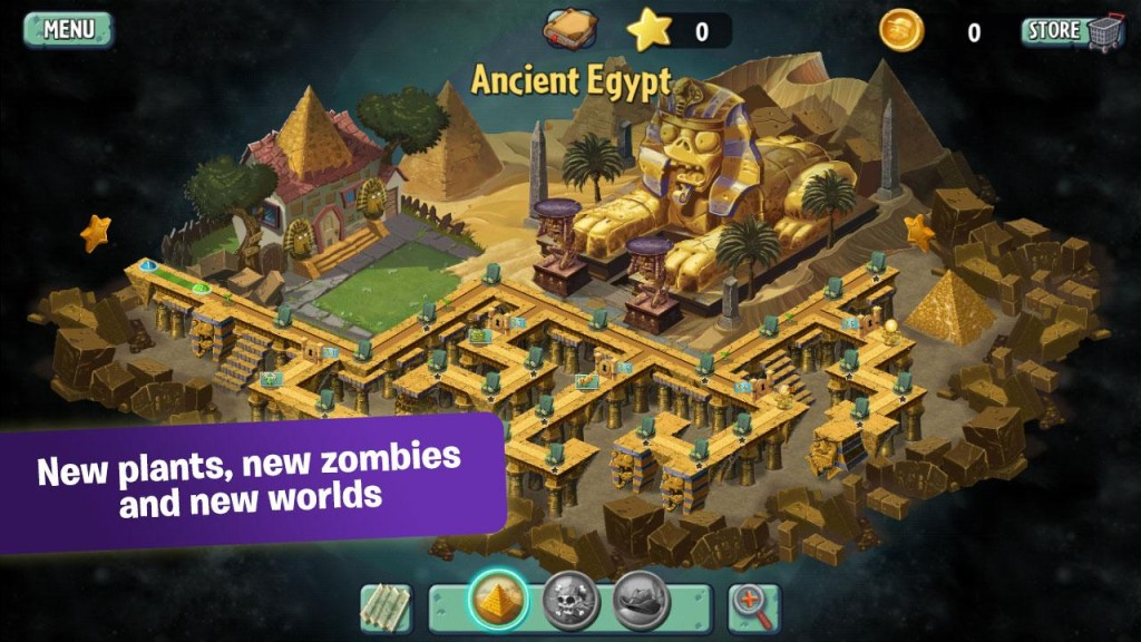 Plants vs Zombies 2 Android Levels