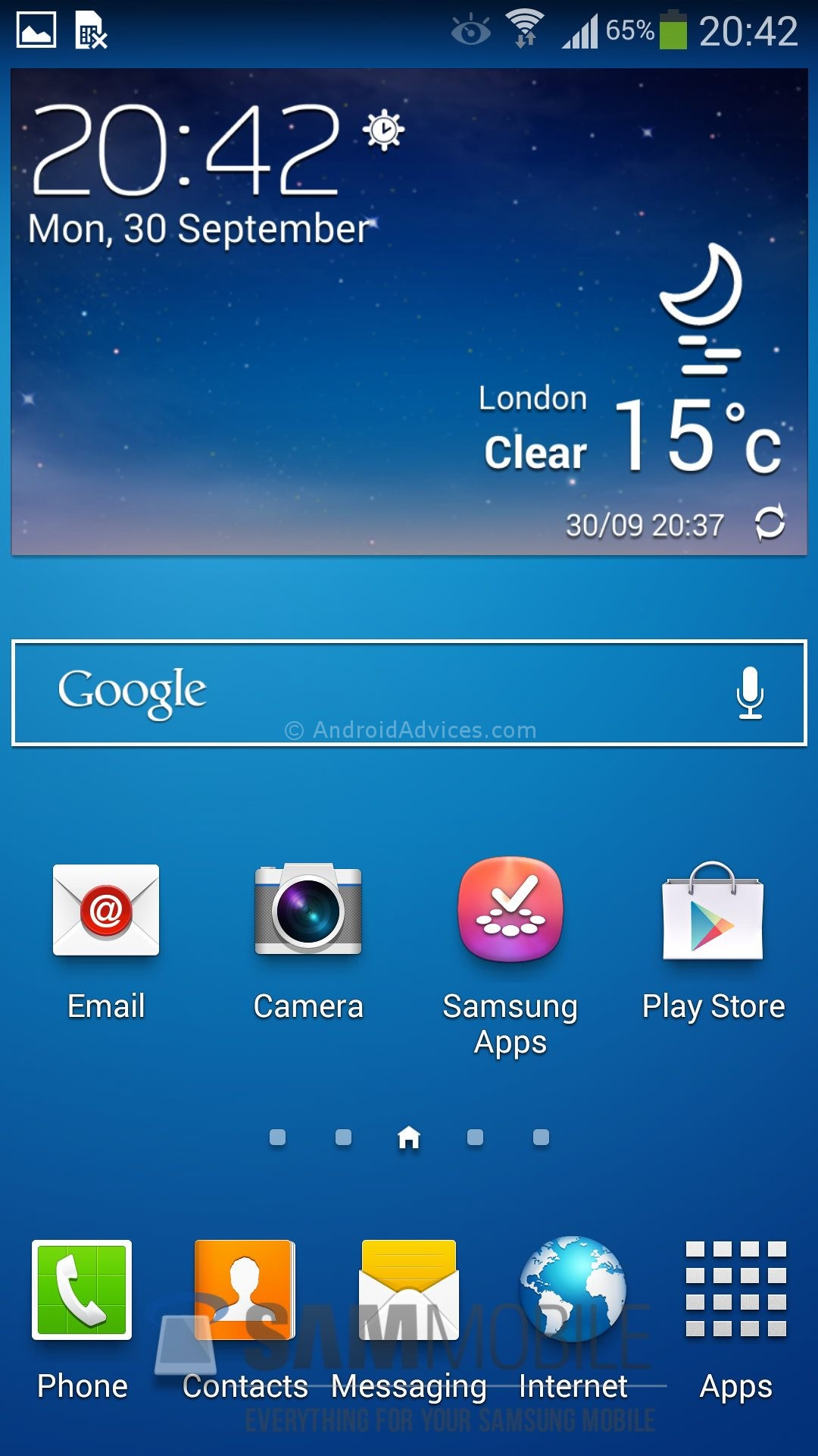 Galaxy s4 weather not updating